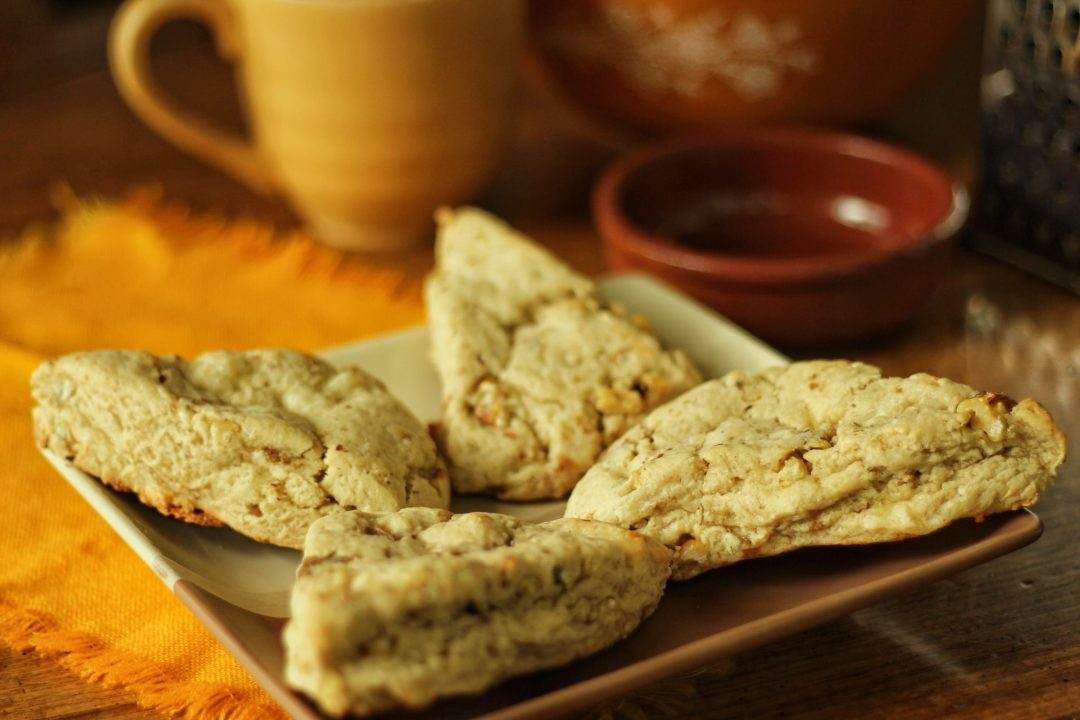 cheddar nut scones zoom