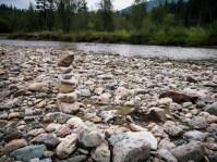 Sullivan Creek. It feeds into the Millpond