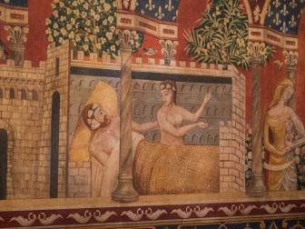 The murals were very interesting.
