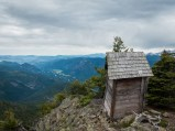 Outhouse with a view