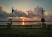 One beautiful sunrise