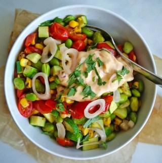 Last of Summer Succotash | anutritionisteats.com