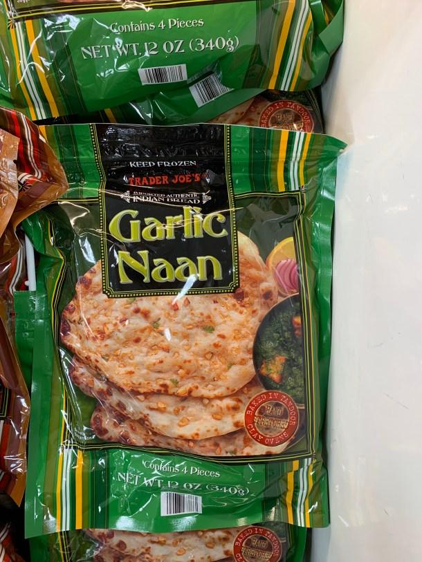 trader joe's garlic naan