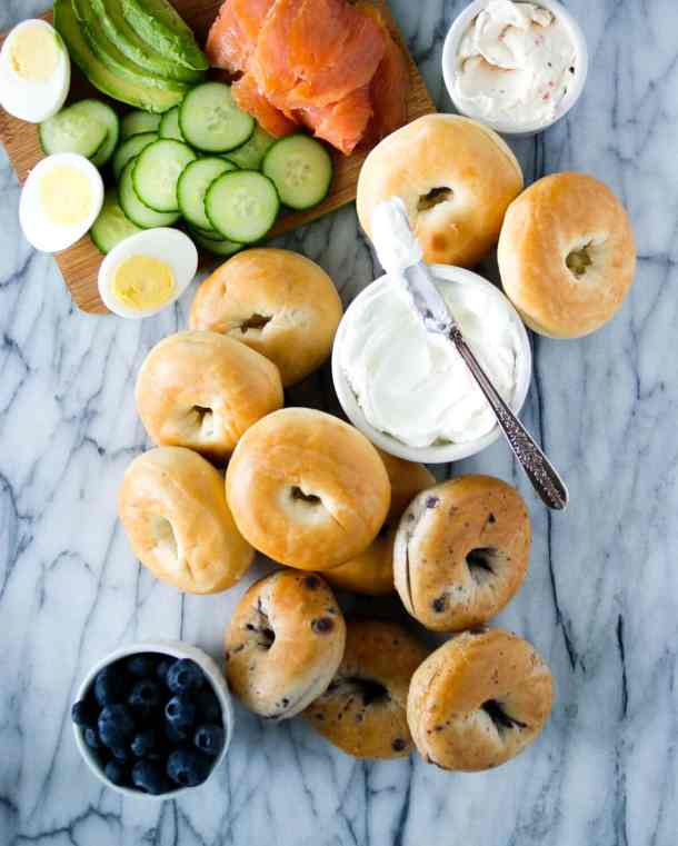 how to make a bagel bar