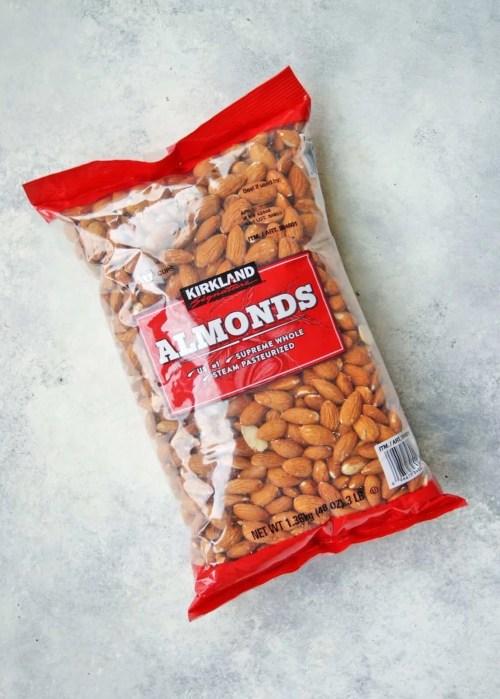 kirkland brand almonds