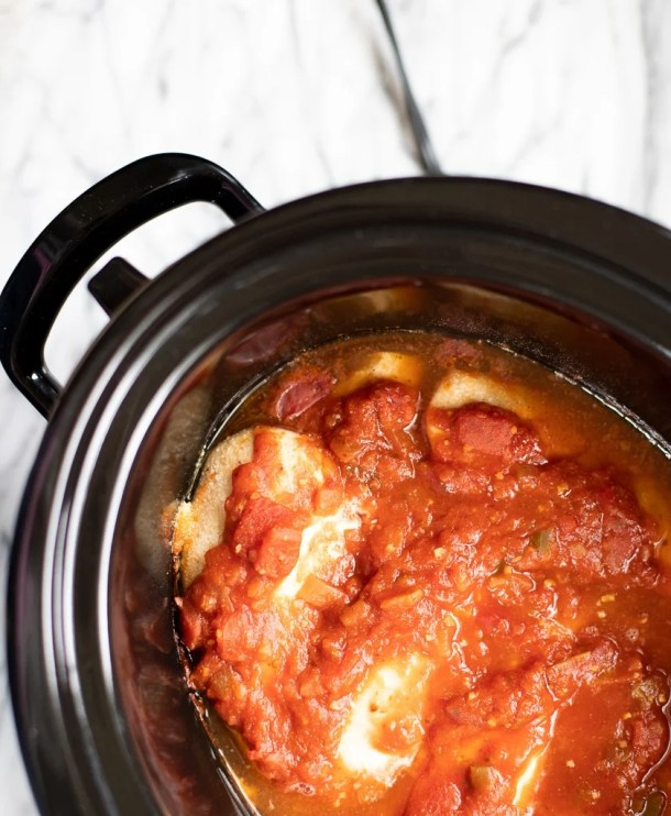 crockpot chicken and salsa