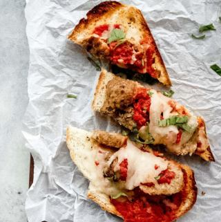 Easy Trader Joe's Recipe Meatball Marinara Sub4
