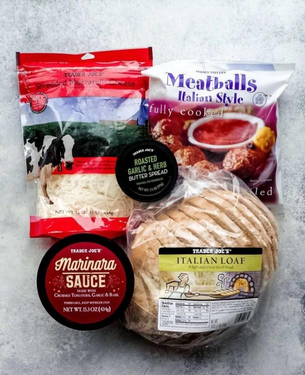 Easy Trader Joe's Recipe Meatball Marinara Sub6