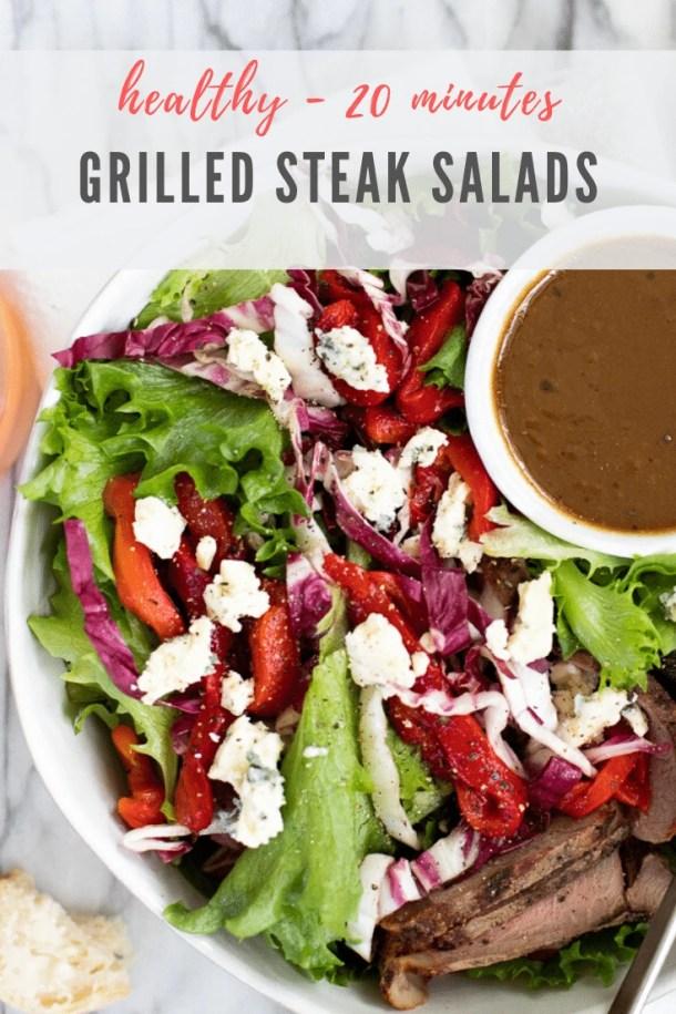 grilled steak salad recipe - pinterest