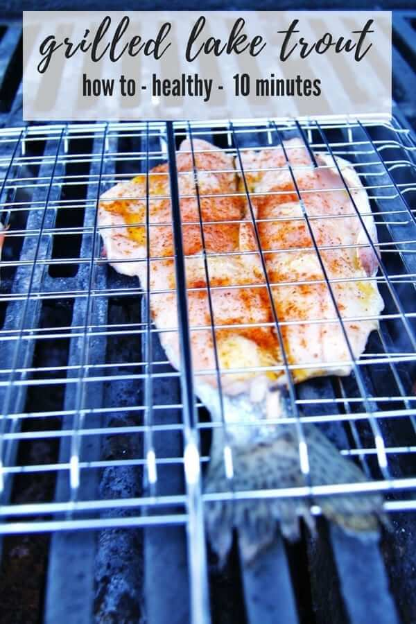 grilled lake trout