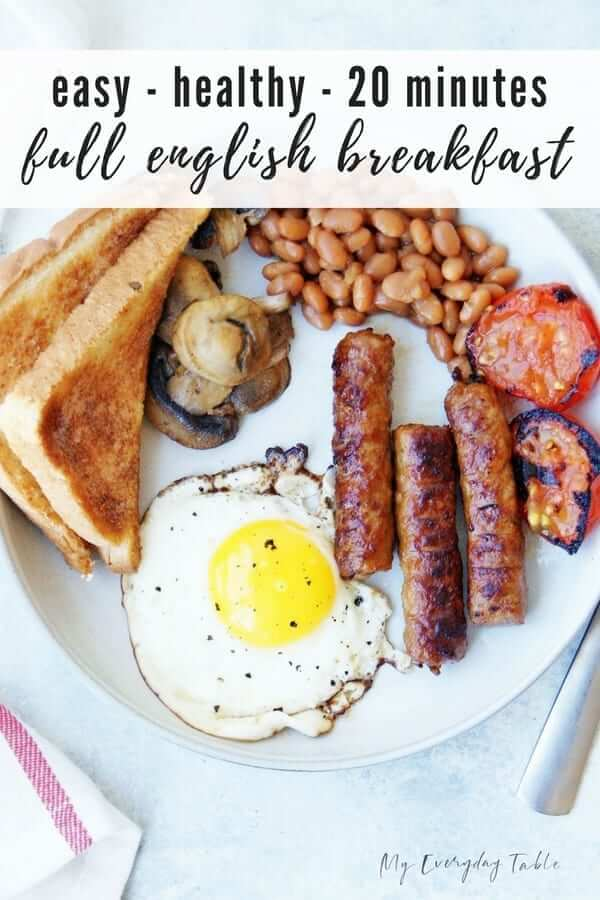 Healthy Full English Breakfast Recipe