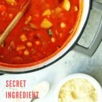 minestrone soup recipe - pinterest