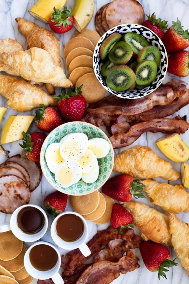 breakfast board menu ideas