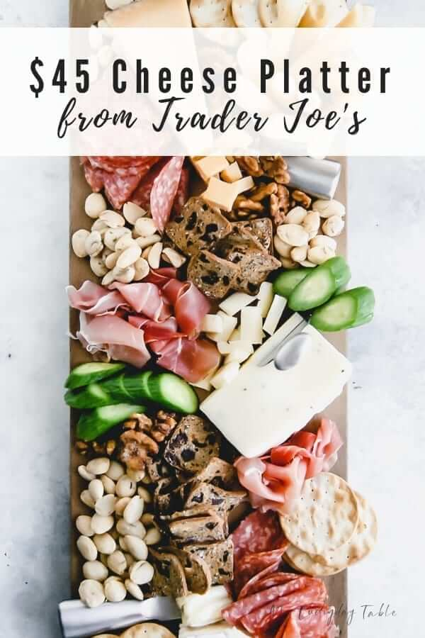 How To Make a Trader Joe's Cheese Platter