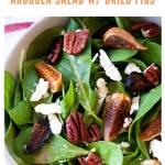 arugula salad - pinterest