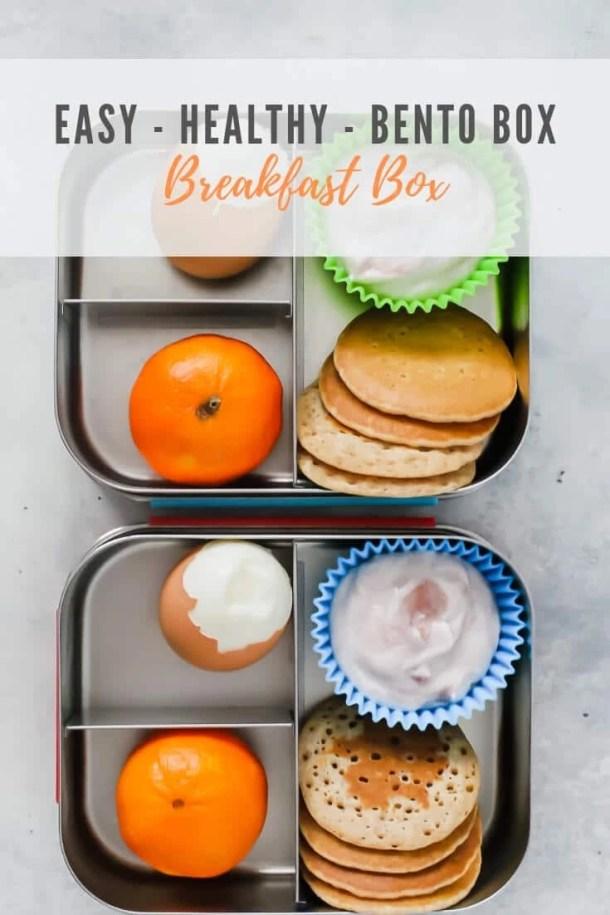 bento breakfast box - pinterest