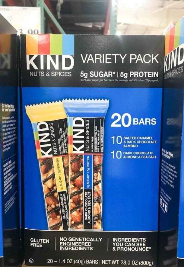 kind bar snacks costco