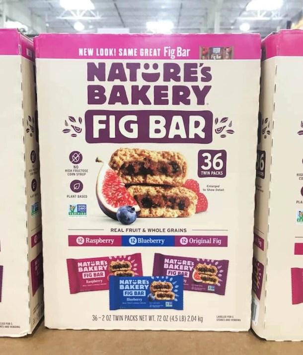 nature's bakery fig bars - healthy costco snacks