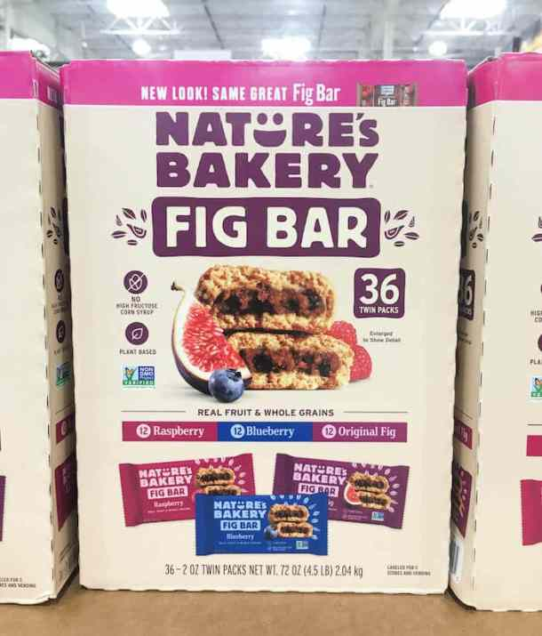 nature's bakery fig bars - healthy costco snacks