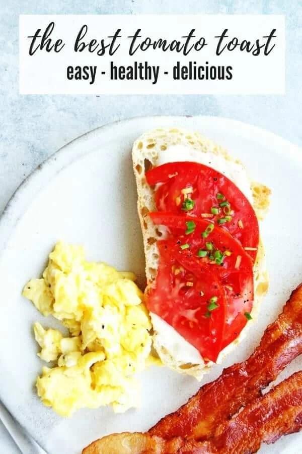 best tomato toast