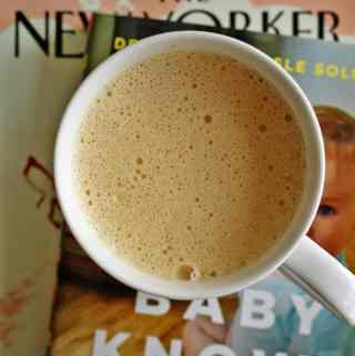 Bulletproof Chai Tea Latte - cream and sweet! | anutritionisteats.com