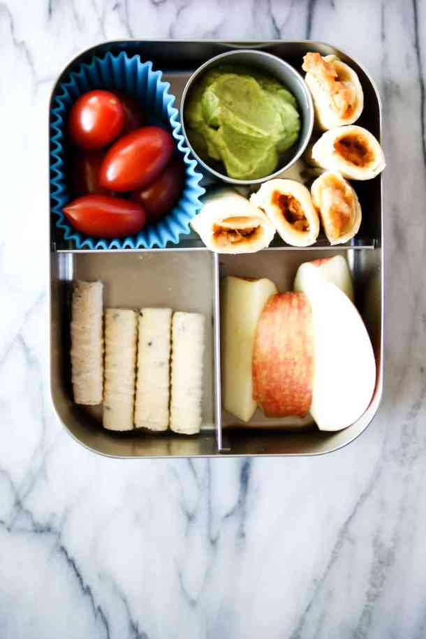 chicken taquito lunch box recipe