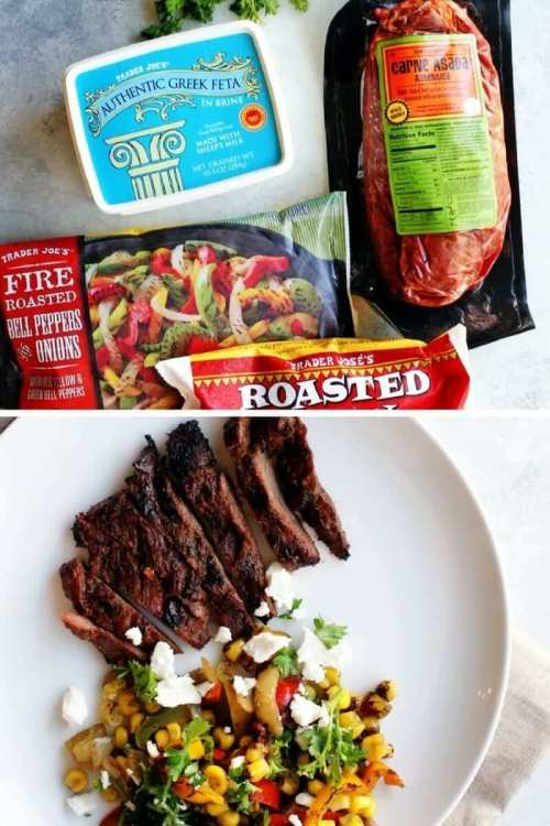 easy trader joe's carne asada