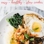 slow cooker Korean beef bowls - pinterest