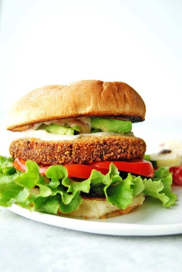 loaded veggie burgers