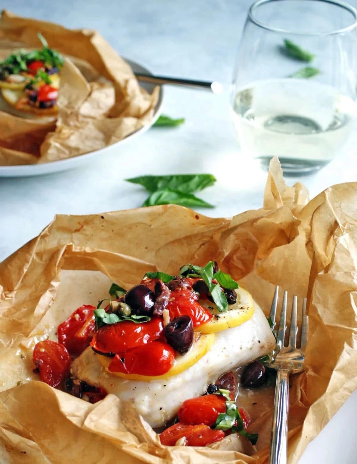 Baked Mediterranean Fish Recipe