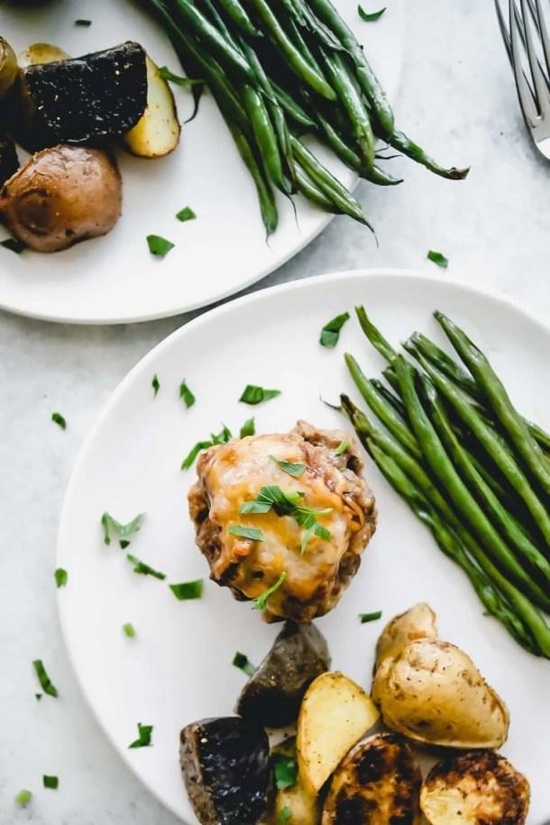 Easy Mini BBQ Meatloaf Recipe
