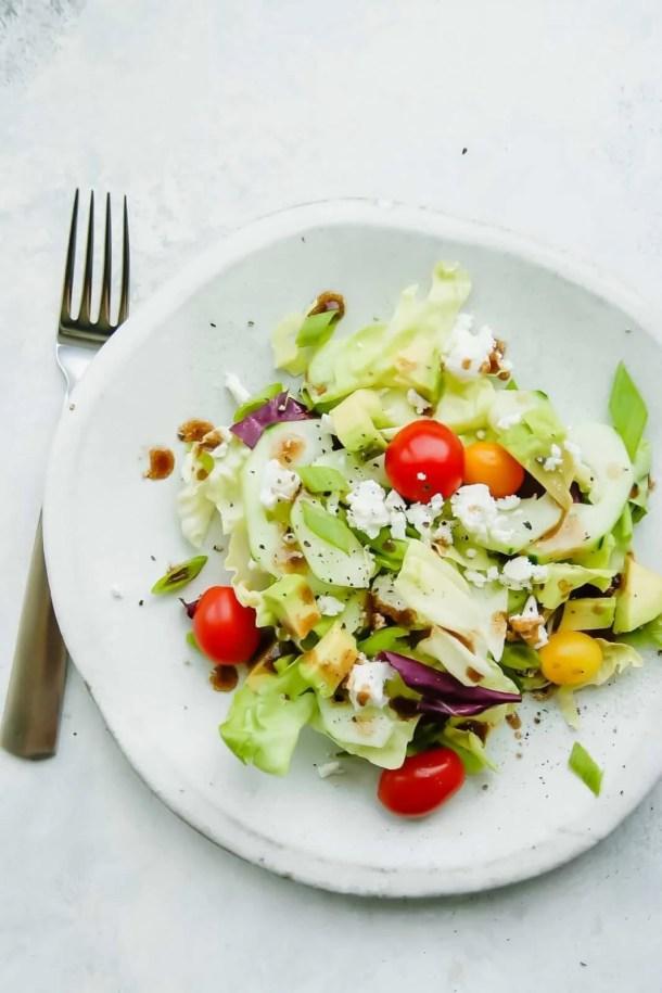 simple green salad