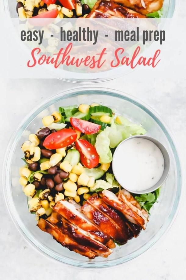 southwest salad for pinterest