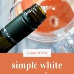 easy white sangria recipe - pinterest