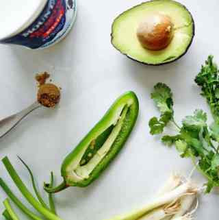 Yogurt & Avocado Dip | A Nutritionist Eats