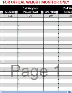 Biggest loser spreadsheet also excel rh myexceltemplates