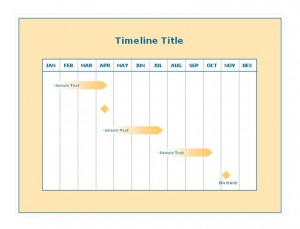 Project Timeline Template | Project Timeline Template Excel