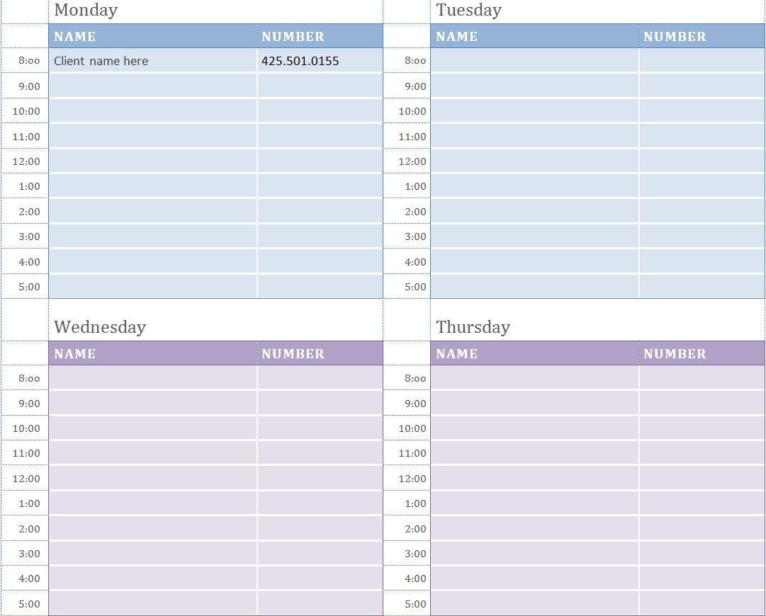 appointment calendar template free - April.onthemarch.co