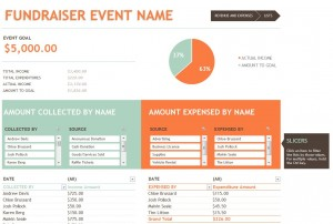 Fundraising Budget Template  Fundraiser Budget Template