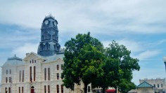 The Granbury Courthouse in Town Square