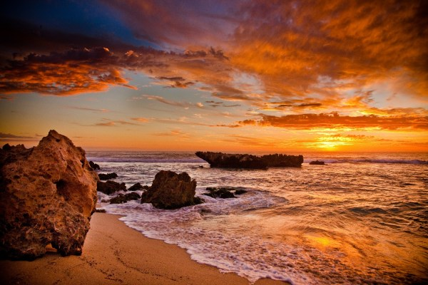 Beach Sunset Landscape Photography