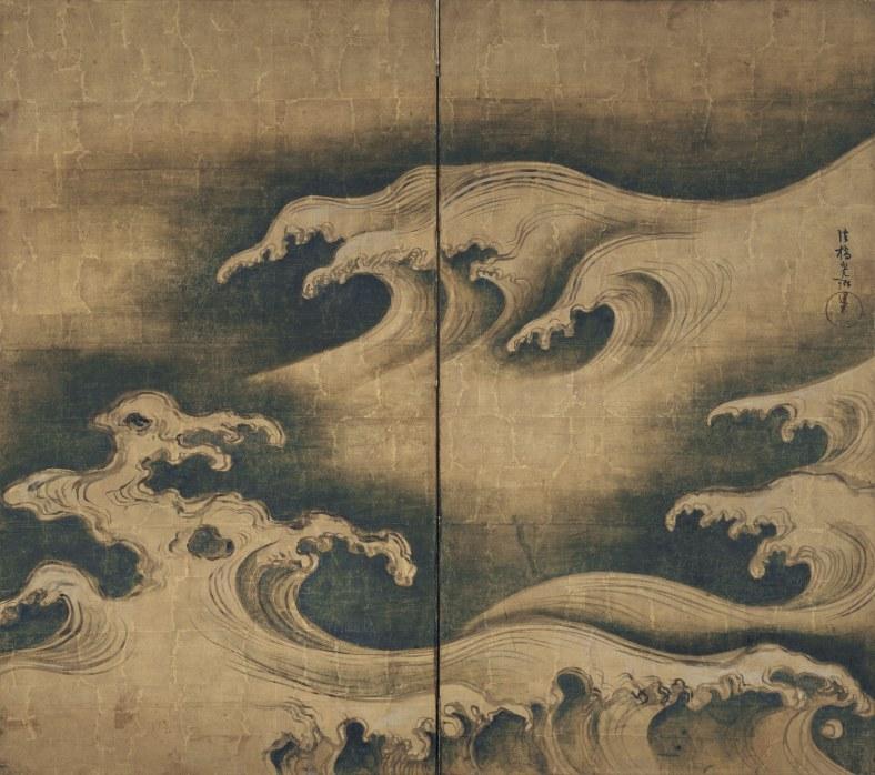 Ogata Kôrin, Rough Waves