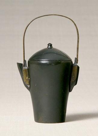 Oil pot. Joseon Dynasty, 19th century. Joseon. stone. 11.6×6.7 cm.