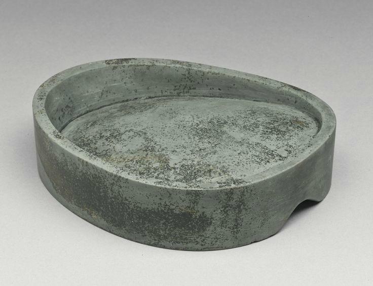 pierre à encre, song dynasty,pierre de Duan verte