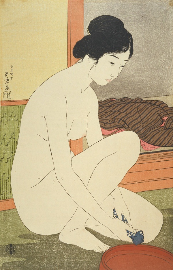 Goyo_bathing