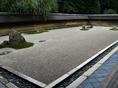 Japanese rock garden - 2