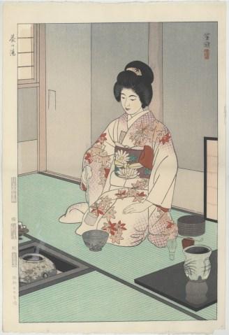 Kasmatsu, Tea Ceremony