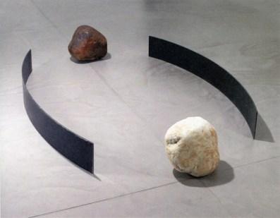 Lee Ufan, relatum-dialogue, 2008