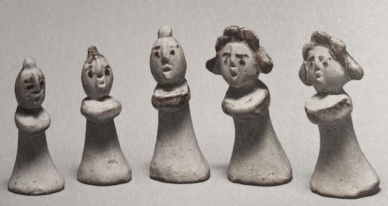 figurines funéraires, Corée, Joseon, XVIèS. , Musée national de Coré