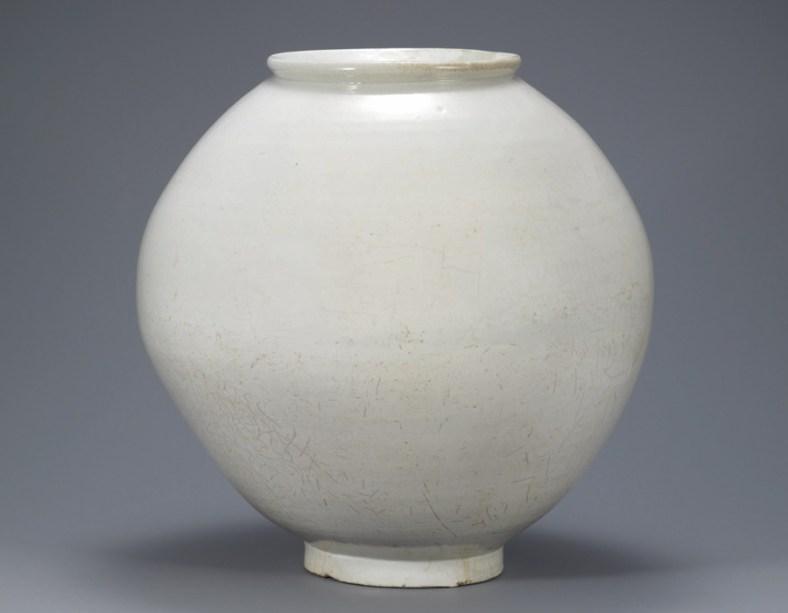 jarre de lune, XVIIIème s. Musée national de Corée,